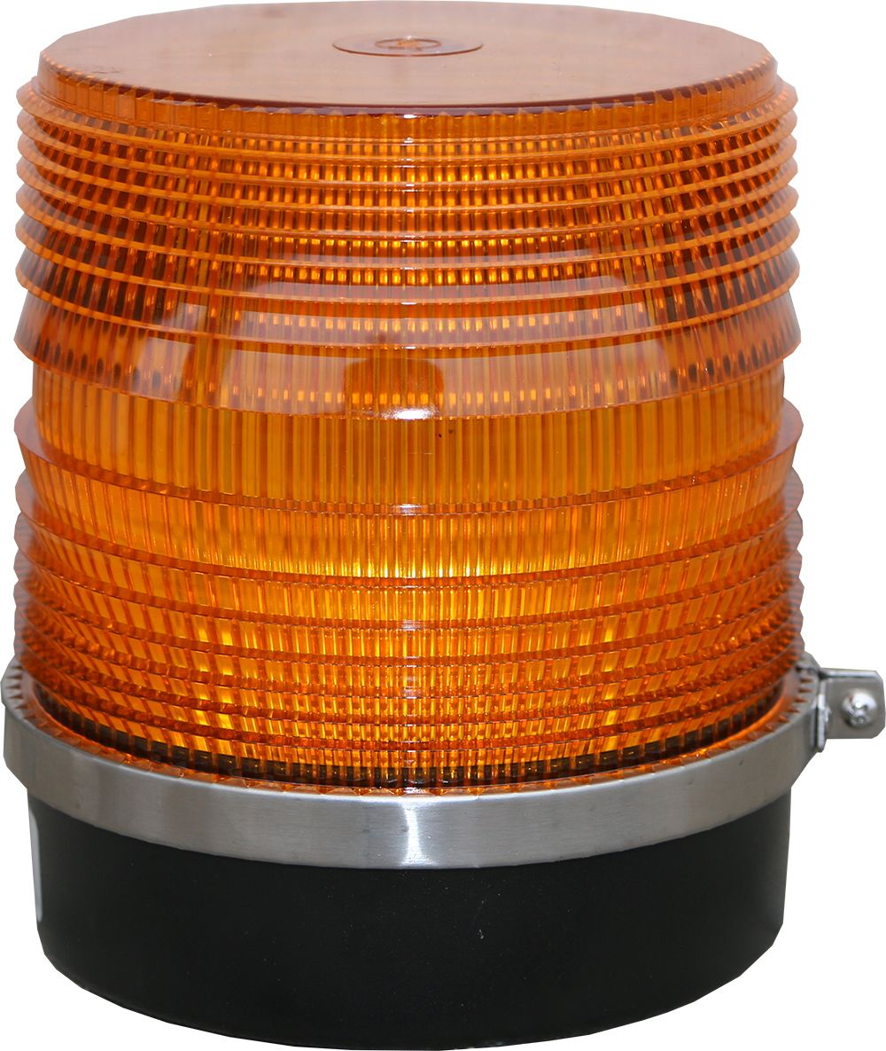 Amber Medium Rotating Light 208RM