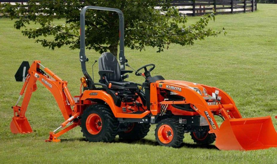Kubota BX25D Tractor Loader Backhoe