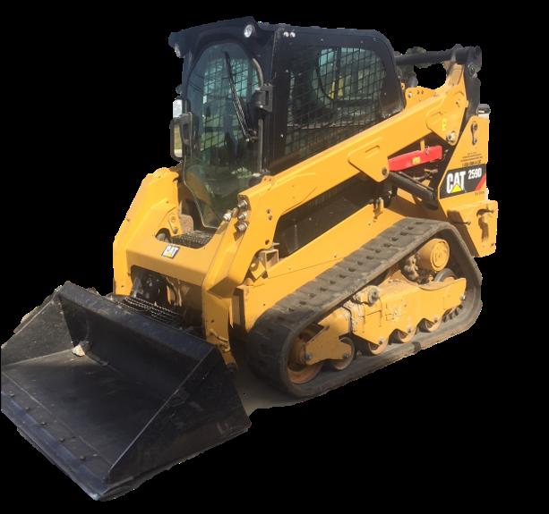 Used 2015 Cat 259D Track Loader