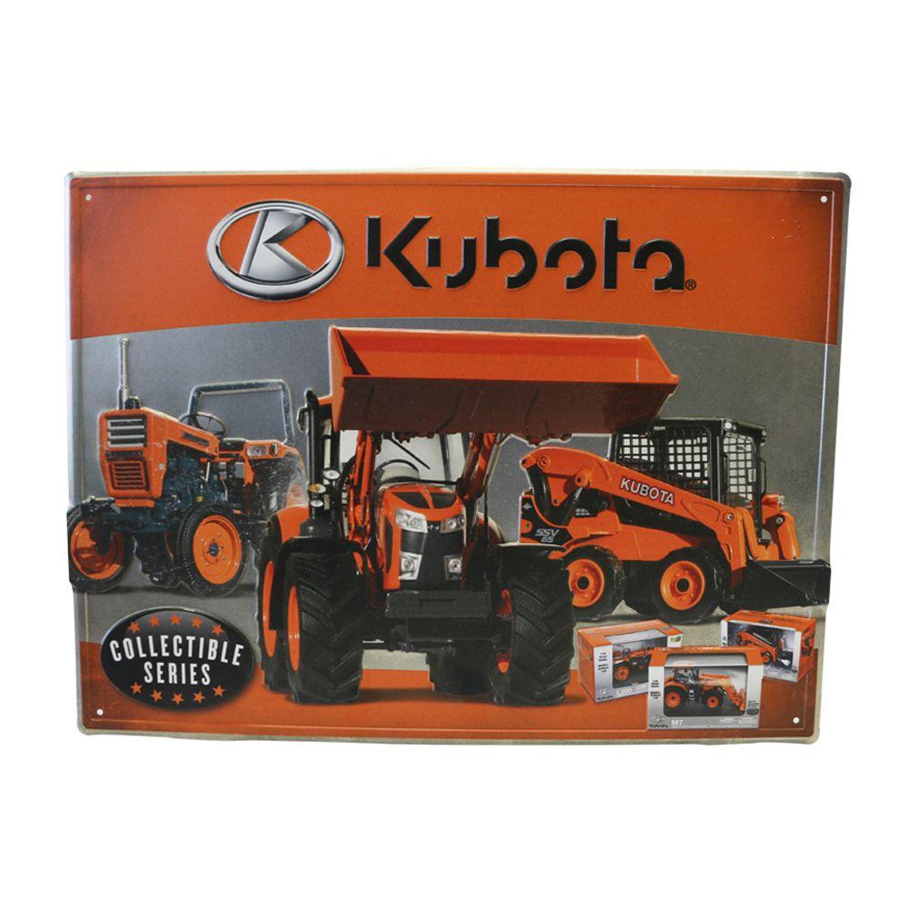 Kubota Embossed Sign
