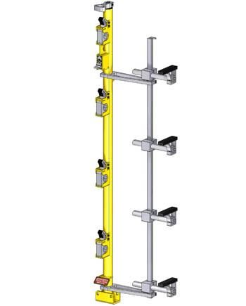 3 place Classic Series trimmer rack by green touch