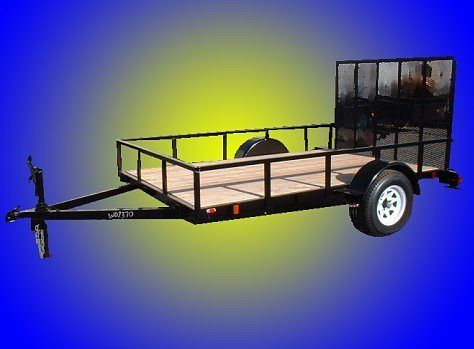 General Duty Landscape Single Trailer (5' W x 10' L) GDLS 510