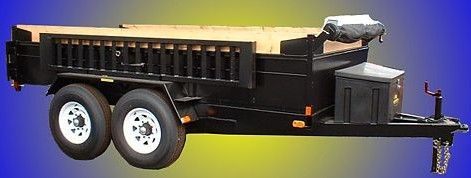Heavy Duty Dump Tandem Trailer HDD 610 by JDJ