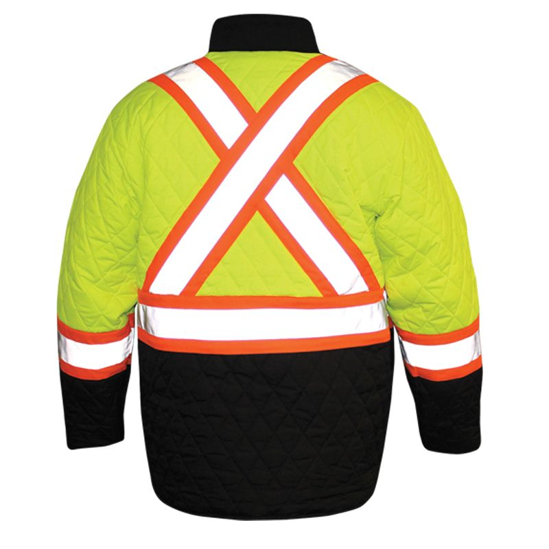 Kubota Mens Reversible High Visibility Canvas Jacket