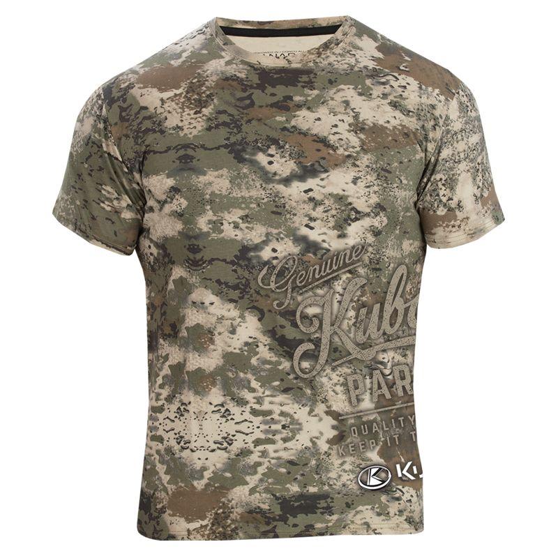 Kubota Mud Splatter Camo T-Shirt