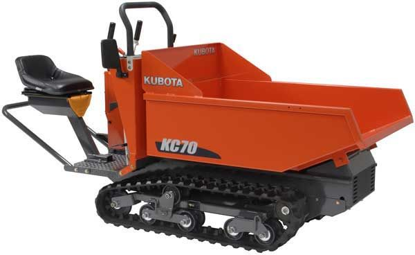 Kubota KC 70 - 4 Rubber Track Carrier