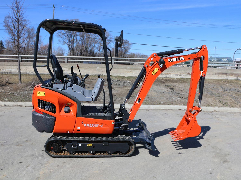 Used 2013 Kubota KX018-4H Excavator
