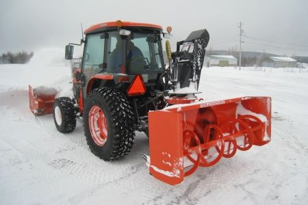 Kubota L2674 Rear-Mount L Series Snowblower