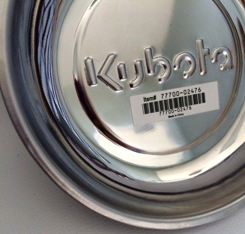 Kubota mini magnetic parts dish
