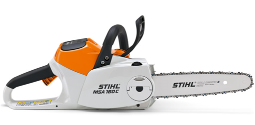 STIHL MSA 160 C-BQ Lithium Ion Battery Powered Chainsaw