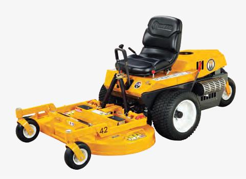 walker mowers mt25iSD side discharge mower