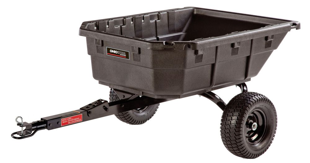 Ohio Steel 12.5 cu.ft. Poly Dump Cart model 4048P-HYB