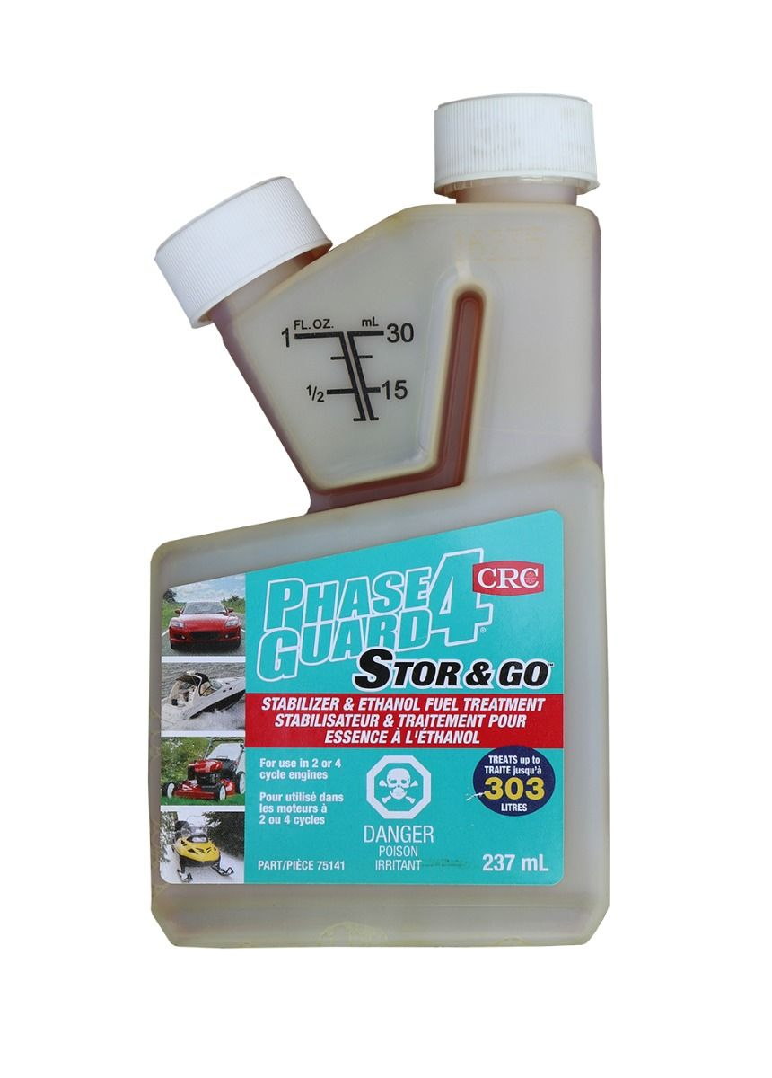Phase Guard 4 Ethanol Fuel Treatment 237mL bottle