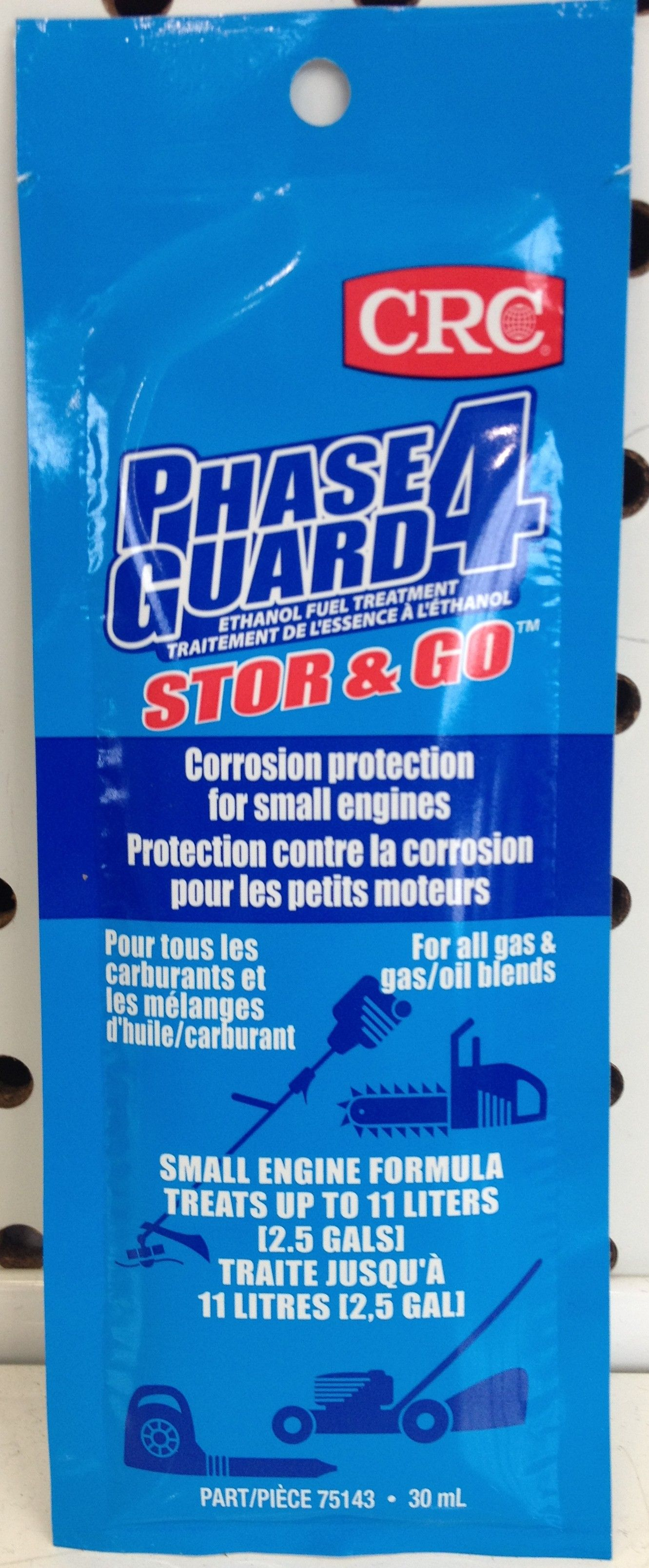 Phase Guard 4 Ethanol Fuel Treatment 30ML package