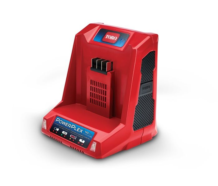 TORO PowerPlex® 40V MAX* Li-Ion Battery Quick Charger (88542)