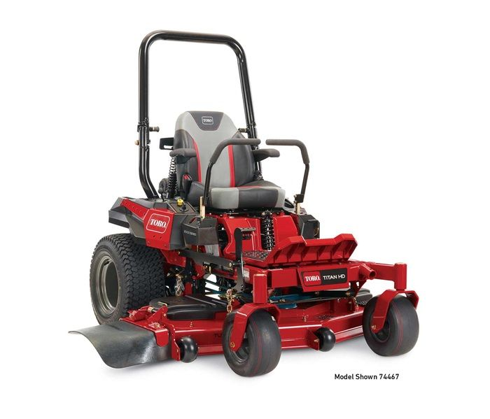 "TORO 74466 Titan HD 2000 Series (MyRide®) 52"" 24.5HP"