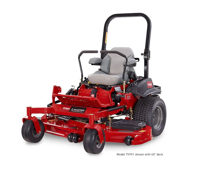 "Toro Z Master 75967 Professional 6000 Series (MyRide) 60"" 31 HP Ride On Mower"
