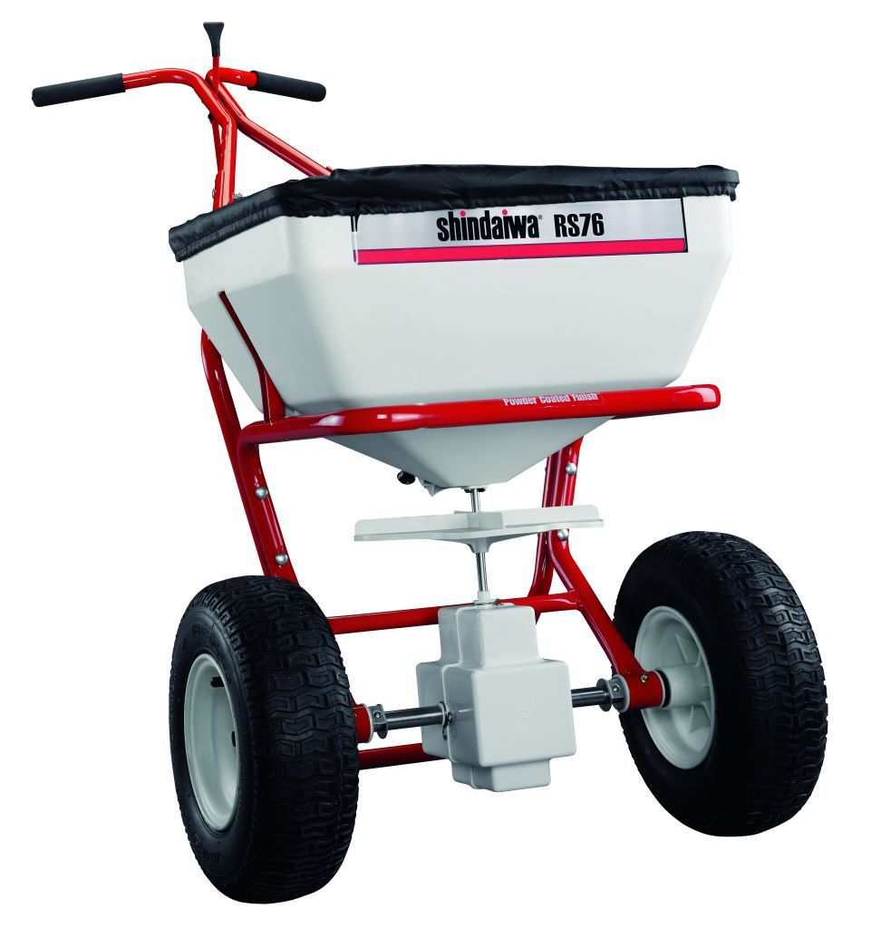 Shindaiwa RS 76 1.3cu' capacity Professional Spreader