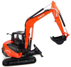 KUBOTA KX080-4 COLLECTIBLE EXCAVATOR 1:32 SCALE