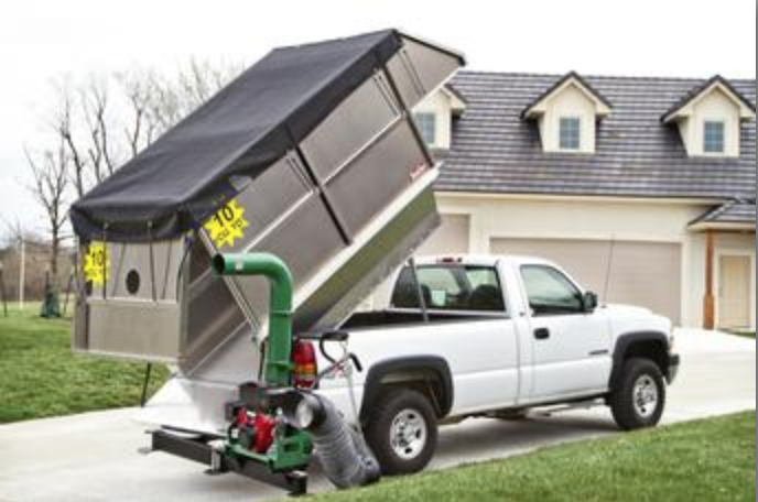 TRUCKCRAFT TC-150 Leaf Express Aluminum Topper WITHOUT GATE