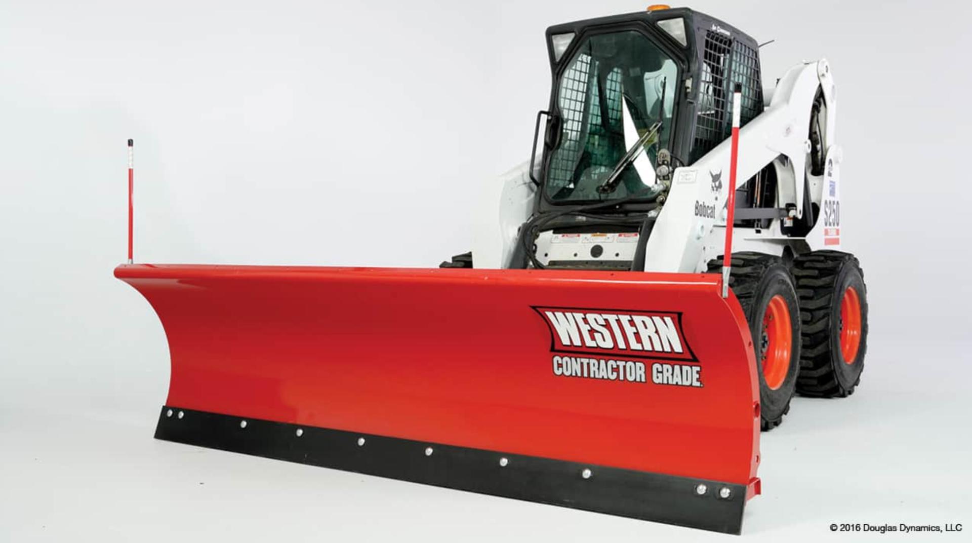 Western Oscillation Skid Steer Pro Plow 9'