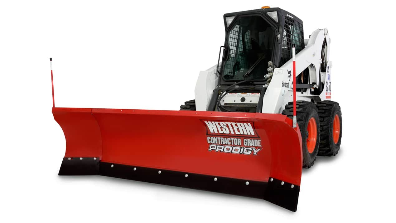 Western Oscillation Skid Steer Prodigy Plow