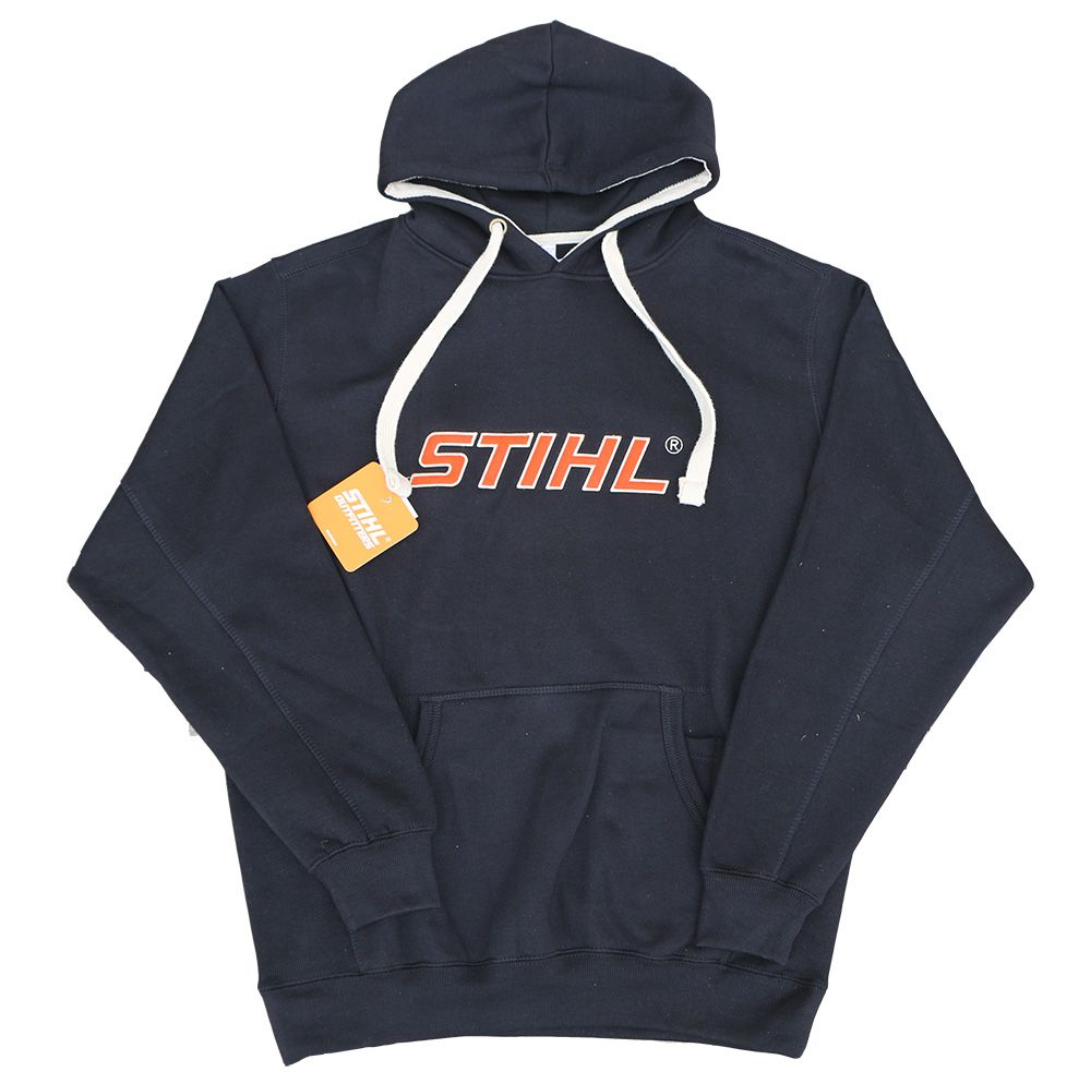 STIHL Black Super Heavyweight Hooded Sweatshirt
