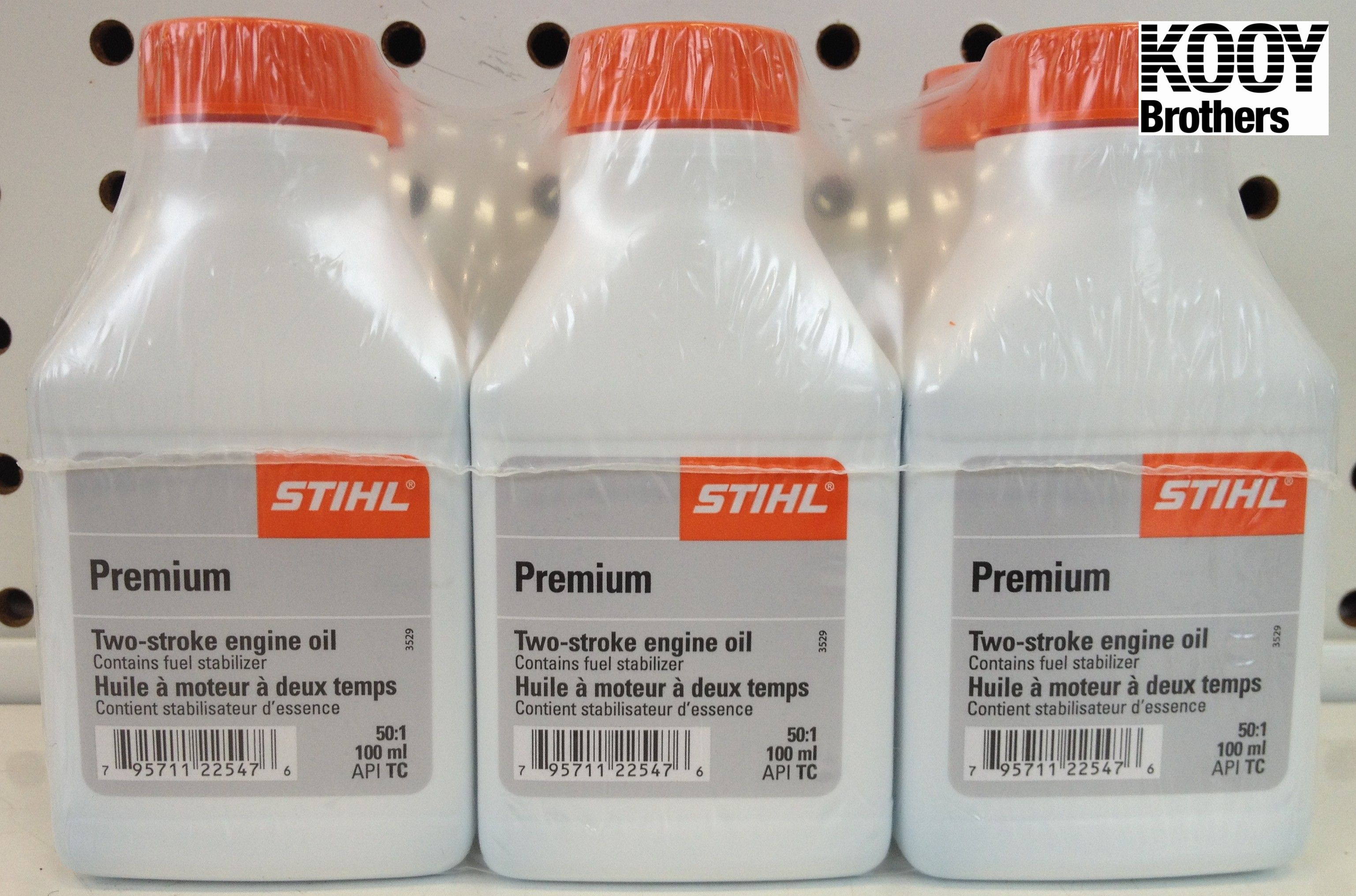 STIHL 100mL bottles of 2 cycle oil - 6 pack