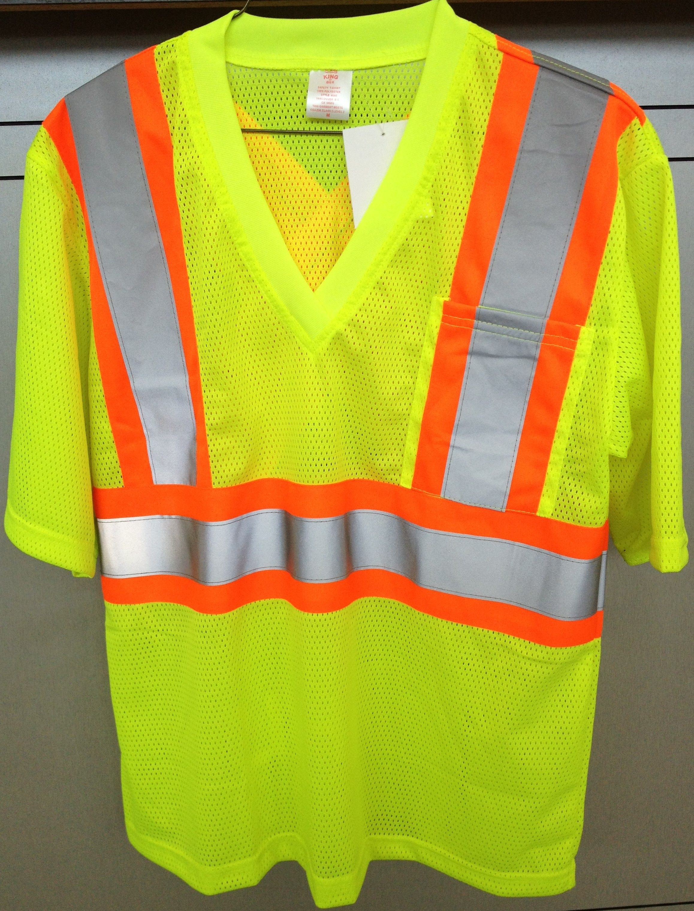 STIHL lime green safety shirt