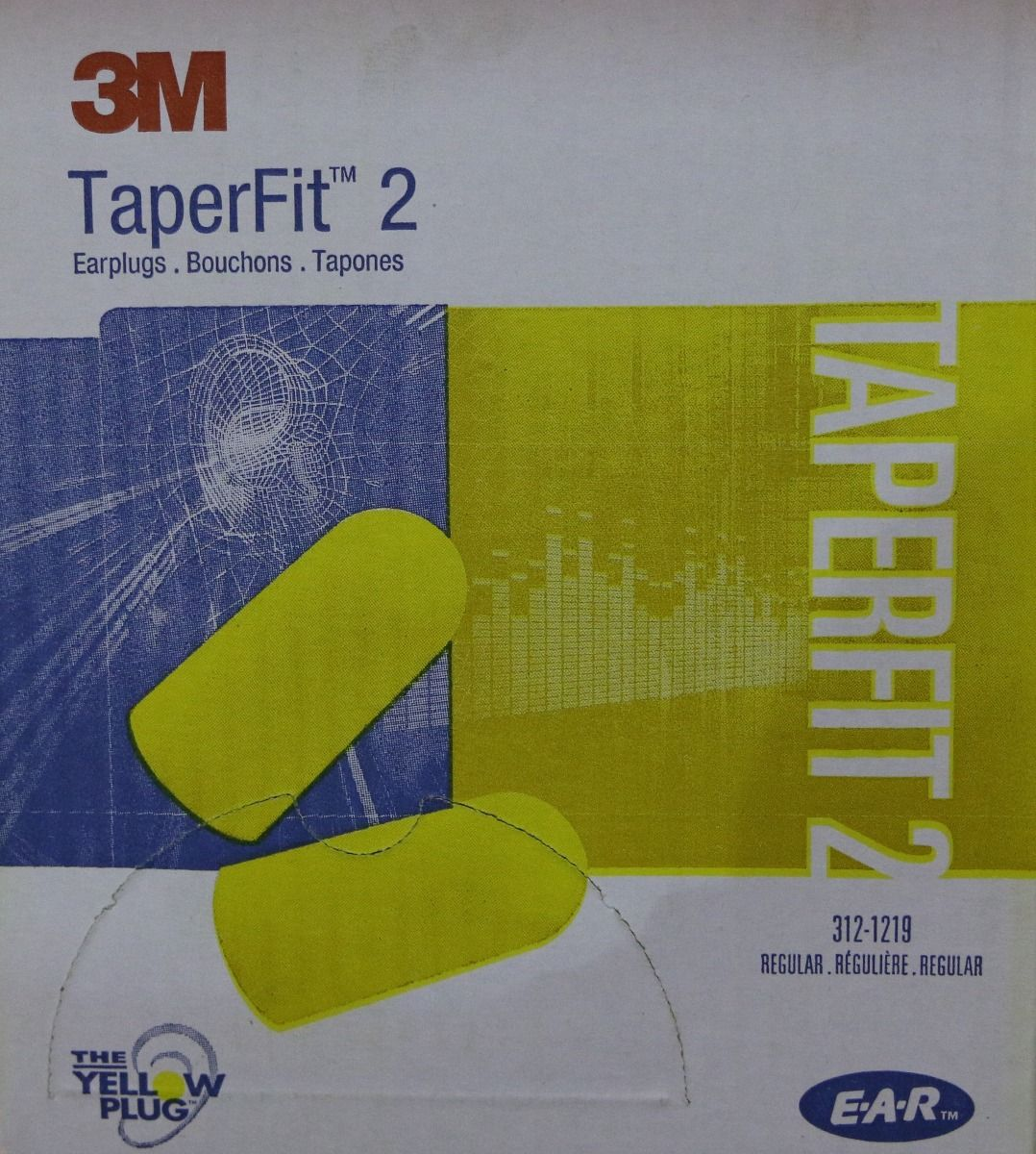 EAR PLUGS by 3M 312-1219