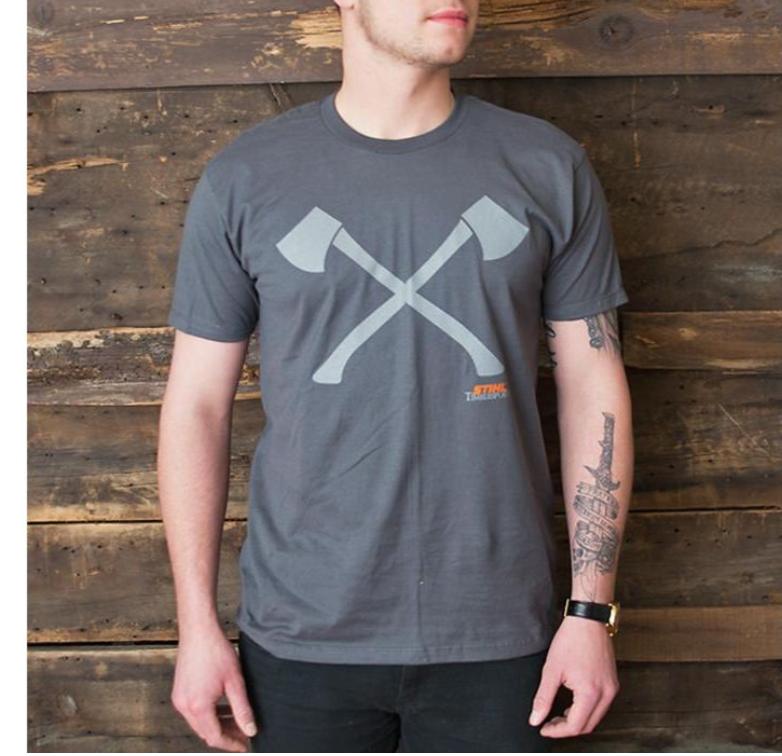"""STIHL Timbersports """"Axe"""" T-Shirt"""