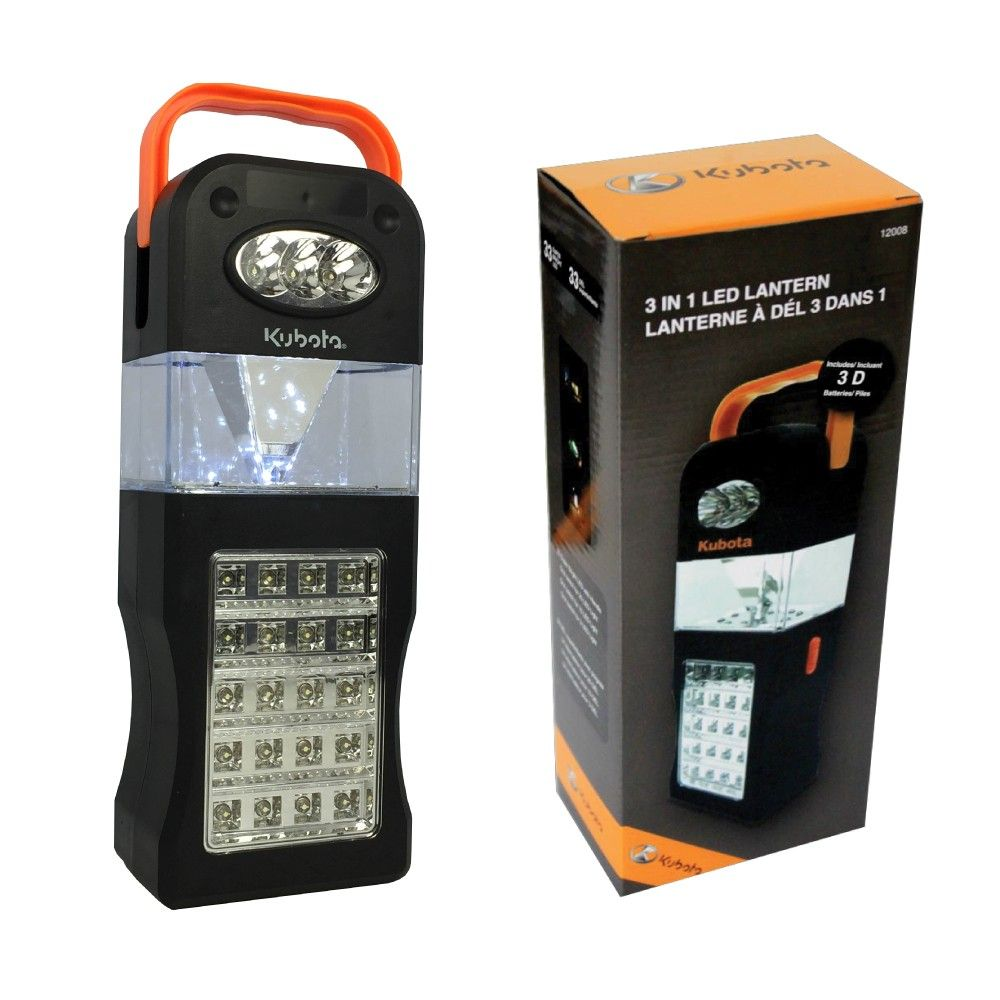 Kubota 3 in 1 LED Lantern