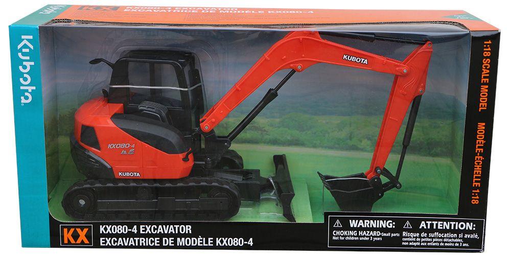 Kubota KX080-4 Excavator Toy