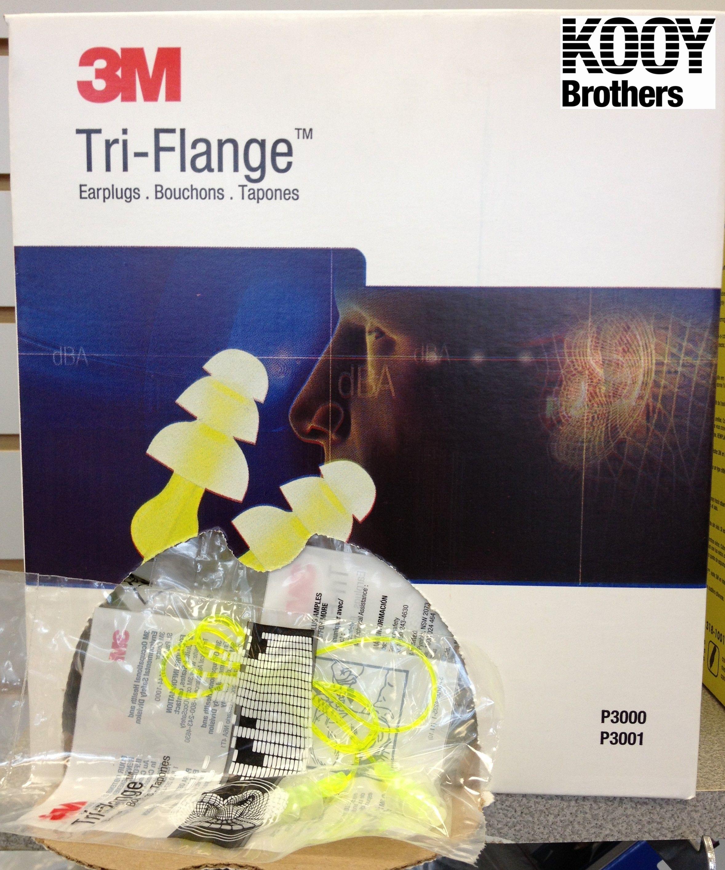 3M P3000 Tri-Flange Ear plugs