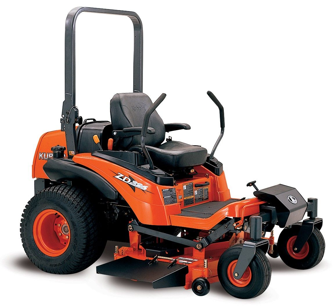 Kubota ZD326P Commercial Full Size 26 HP Diesel Zero Turn Mower