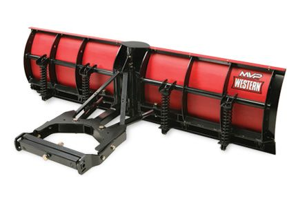 Western V Plow is made with high-density polyethylene