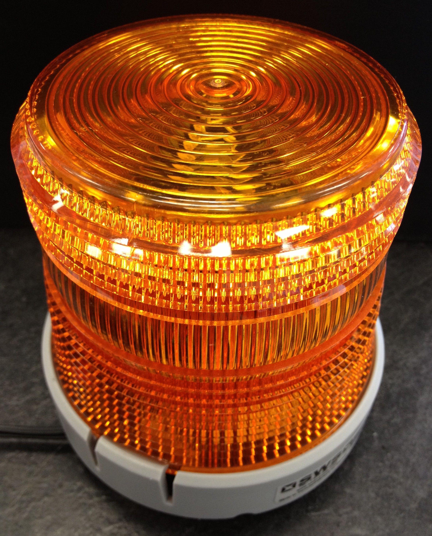 Amber Small Rotating Light 201ZM