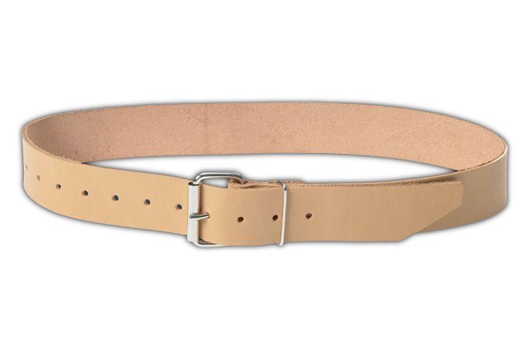2 inch in width top grain leather belt