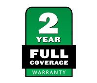 2-Year Full Warranty - This product is covered by a two-year full warranty