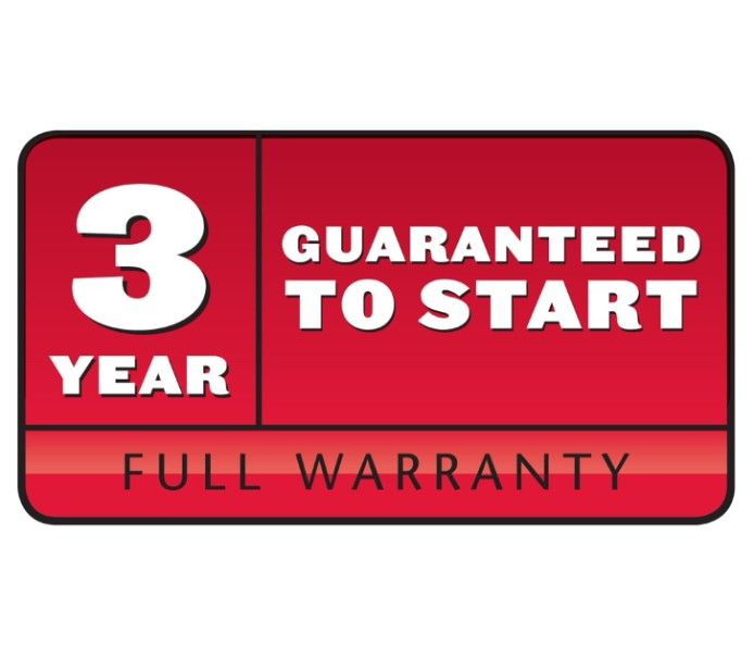 Starts on one or two pulls up to three years or we'll fix it for free! Ask us for details!