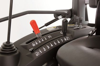 Kubota's new multi-stage notch type cruise control offers lighter lever operations to keep your working speed constant