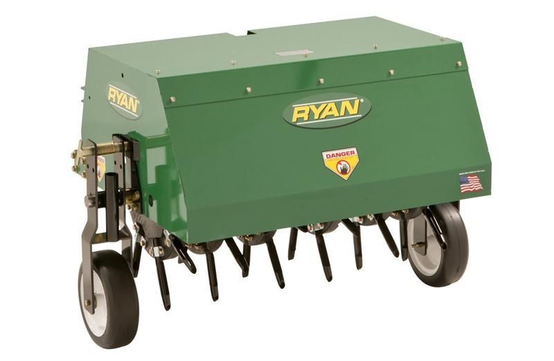 Lawnaire® Tow-Behind Aerator Back Right Angle