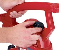 Variable Speed Knob - Match the air speed to the task in both blower and vacuum modes with the infinitely variable knob