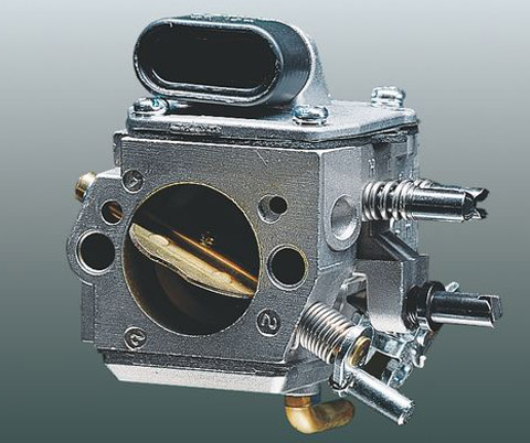 Compensator - This controller in the carburettor prevents the fuel-air mixture getting richer as the air filter becomes clogged.