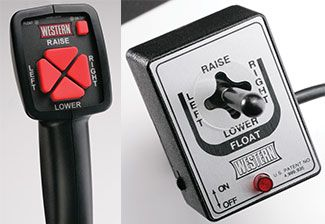 Choose between the CabCommand hand-held control option, or the solenoid joystick