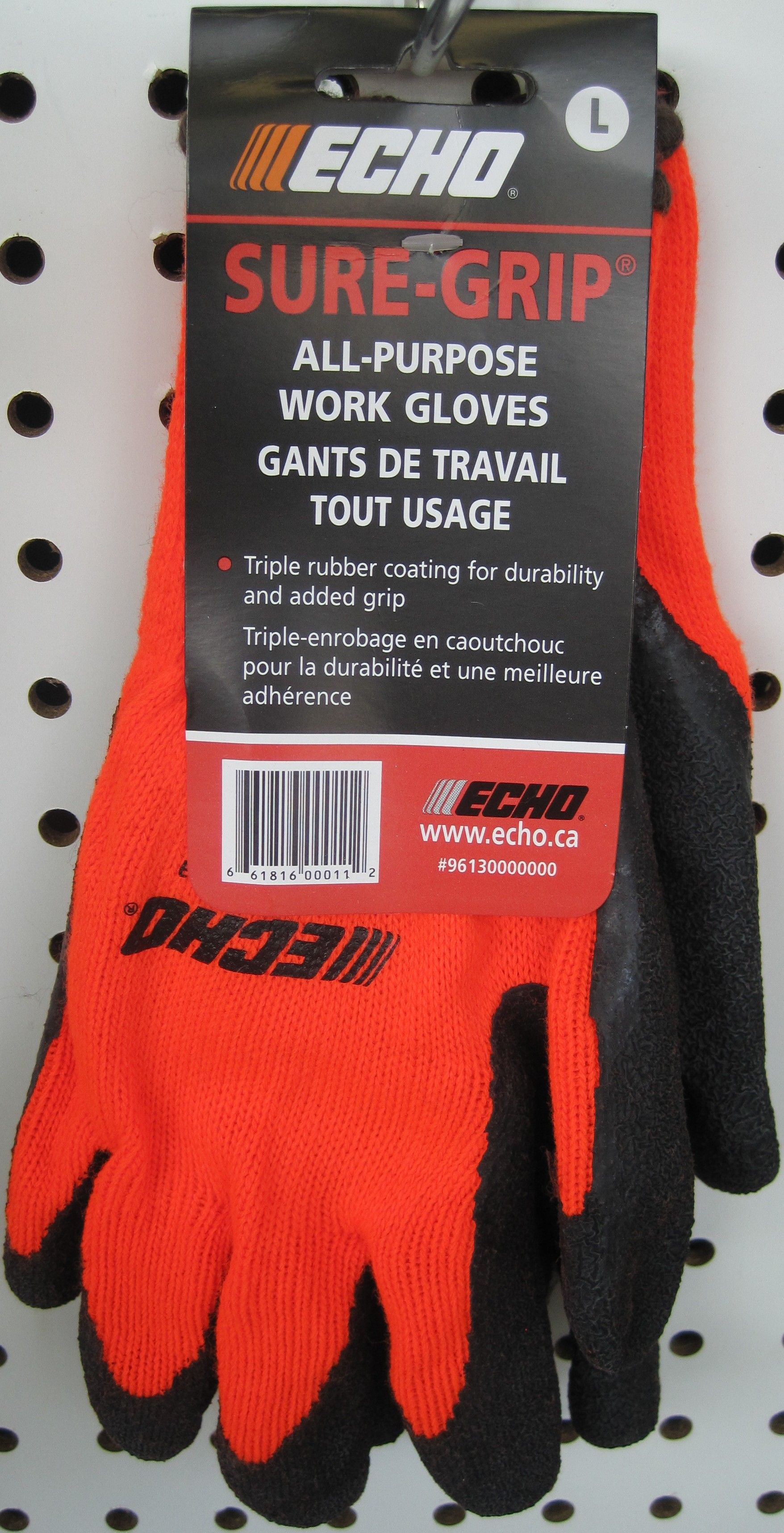 durable ECHO safety gloves