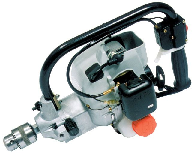 ECHO EDR210 engine drill shown in older grey style