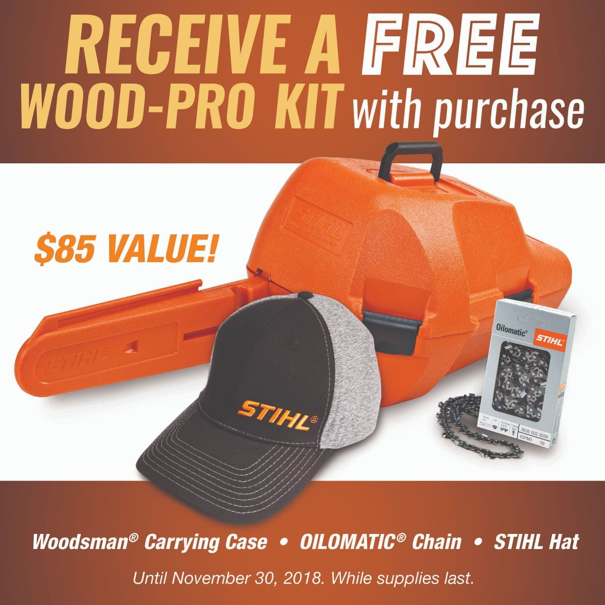 Image result for 2018 stihl wood pro kit