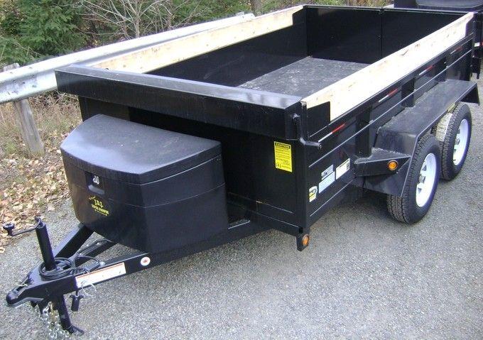 GD610 JDJ dump trailer