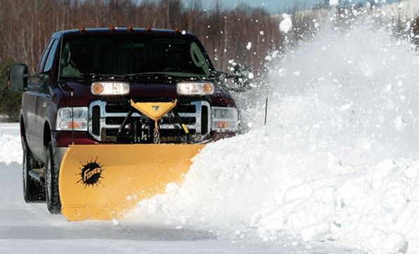 "Designed for ½-, ¾- and 1-ton four-wheel drive trucks, as well as today's 15,000 GVW Super Duty vehicles, these snow plow blades are 29"" high and built with the heavy 11 gauge steel"